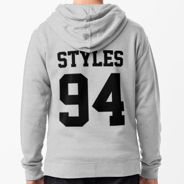 Estilos 94 / One Direction Sudadera con capucha y cremallera