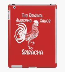 Sriracha The Original Awesome Sauce  iPad Case/Skin