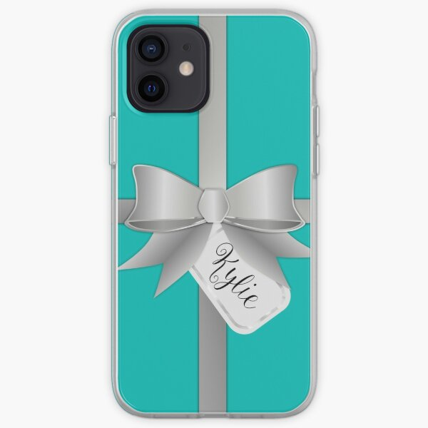 Blue Personalized Gift Box Kylie iPhone Soft Case