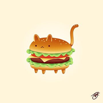 Yum Yum Cats: Nya Burger by knitetgantt