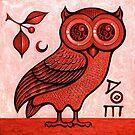 Athena's Owl 3 by Scott Partridge