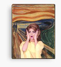 Rupaul's Drag Race - Alyssa Edwards - The Scream Canvas Print