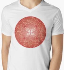 The Root Chakra Men's V-Neck T-Shirt