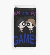 DAN AND PHIL GAMES Duvet Cover