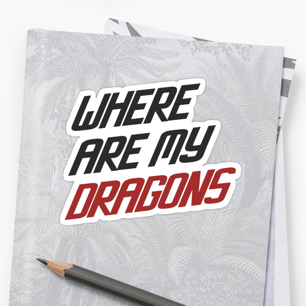 Where are My Dragons - GOT by eelagreen