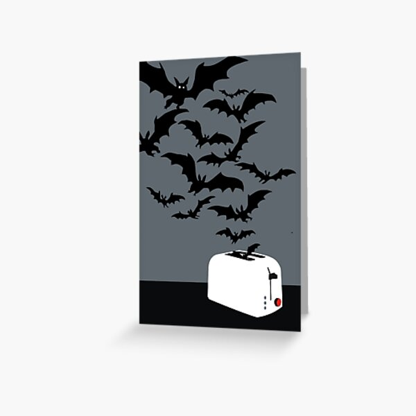 Release the bats! Greeting Card