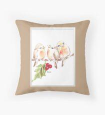 Three Little birds ♪♪♪♫ Throw Pillow