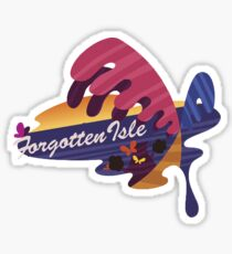 Super Mario Odyssey - Forgotten Isle Sticker Sticker