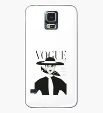 Vintage vogue cover... Case/Skin for Samsung Galaxy
