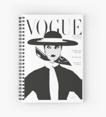 Vintage vogue cover... Spiral Notebook