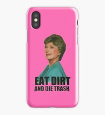 Eat Dirt And Die Trash (V2) iPhone Case/Skin