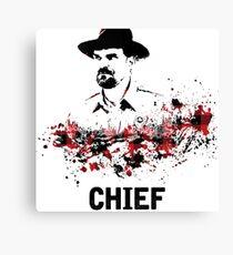 Chief Jim Hopper Canvas Print
