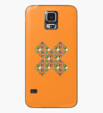 Super Mario Bros. 3 / Items x / pattern / orange sand Case/Skin for Samsung Galaxy