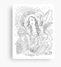 bones and languages Canvas Print
