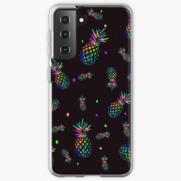 Pineapple Under The Sea Samsung Galaxy Soft Case