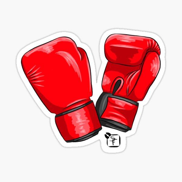 Boxing Gloves Sticker