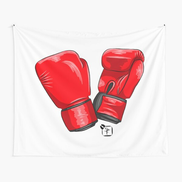 Boxing Gloves Tapestry