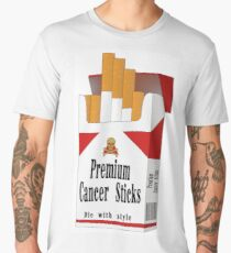 Premium Cancer Sticks Men's Premium T-Shirt