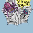 «Sitio web de araña» de jarhumor