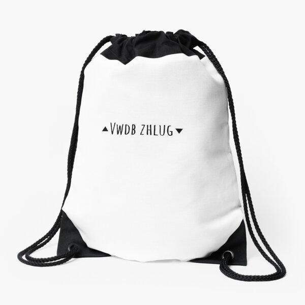 Stay Weird Drawstring Bag