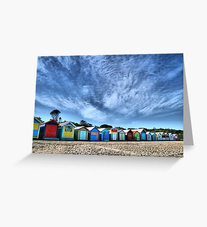 Little Boxes Greeting Card