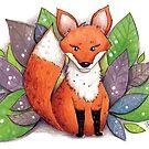 Leaf Fox by shellysea