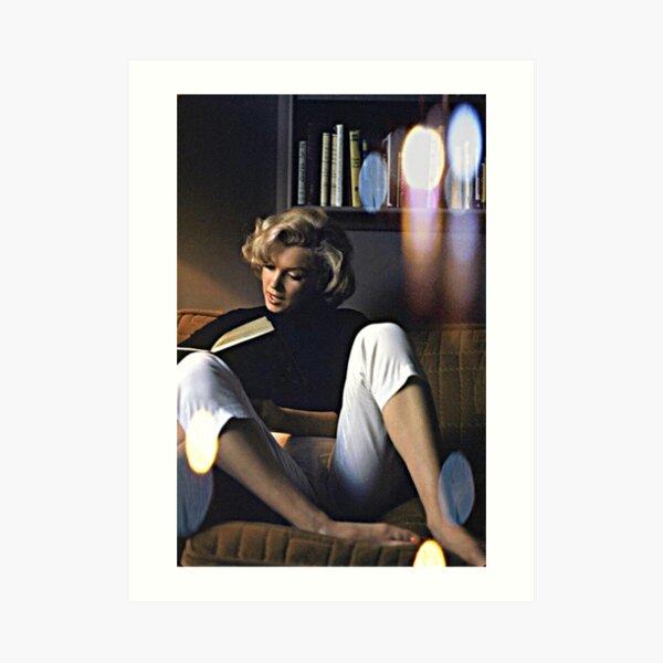 M.M. & Chill Art Print
