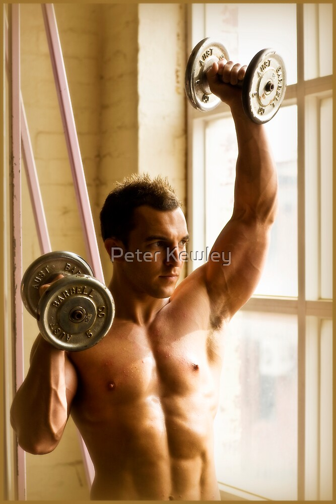 In the Gym 5 by Peter Kewley