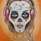 Miss Calavera  by WeiCLiang
