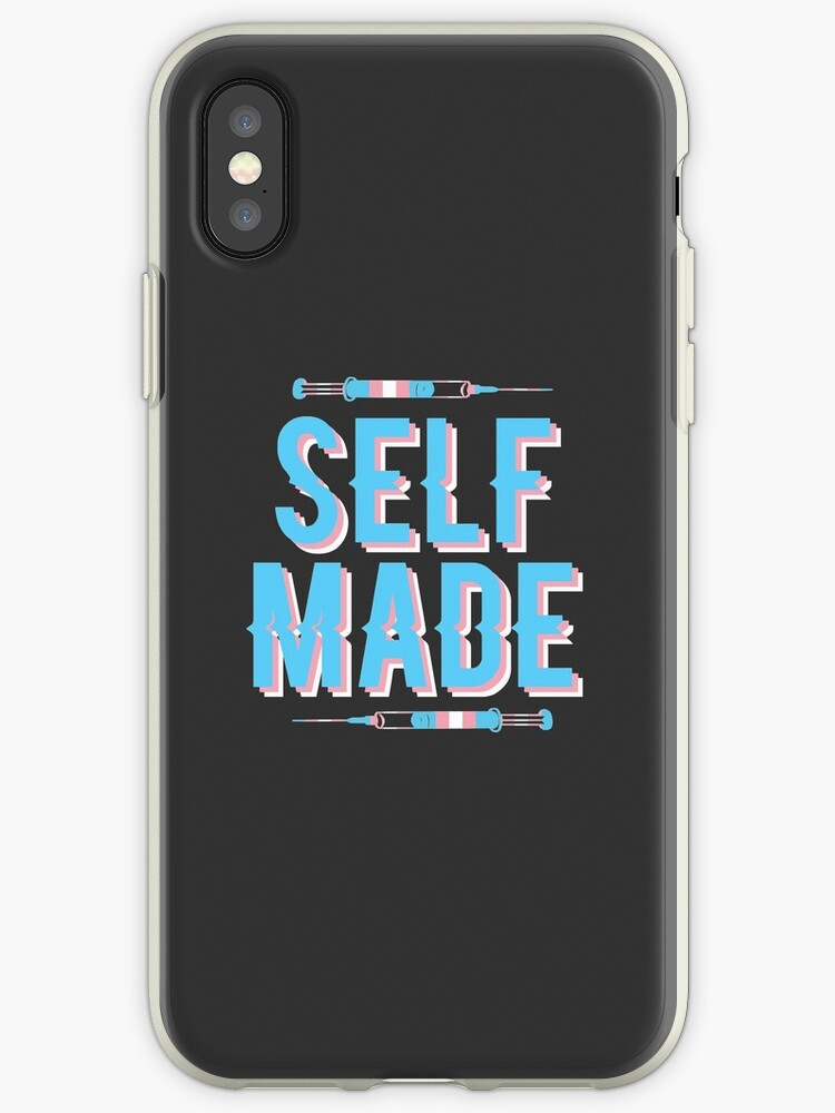 new concept 32aae b231b 'Self Made' iPhone Case by transprince