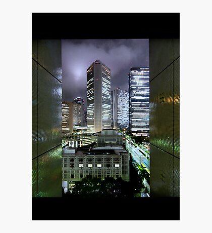 Shades of Bladerunner: Shinjuku, Tokyo Photographic Print