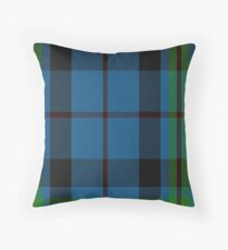 00692 Notre Dame Marching Guard Tartan Throw Pillow