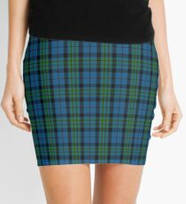 00692 Notre Dame Marching Guard Tartan Mini Skirt