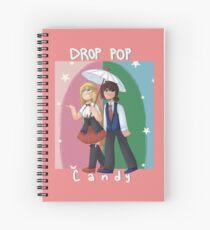 Drop Pop Candy Fredoy Spiral Notebook