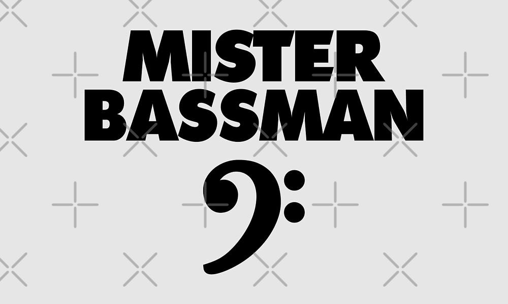 MISTER BASSMAN CLEF by theshirtshops