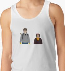 Steve and Dustin-Stranger Things Tank Top