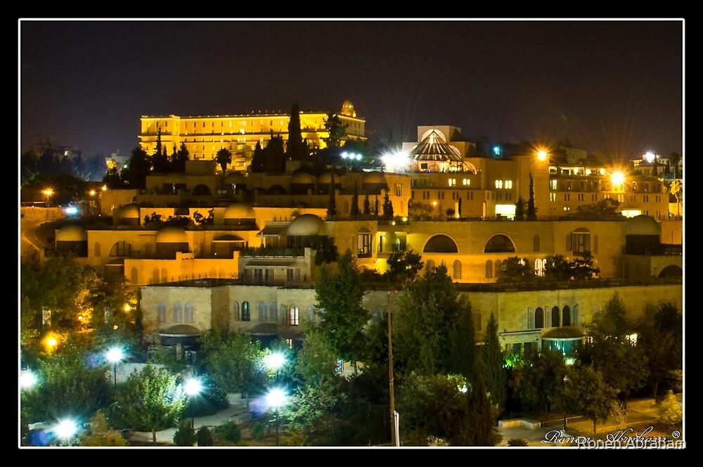 King David hotel by Ronen Abraham