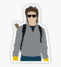 King Steve-Stranger Things Sticker