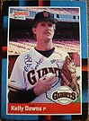 337 - Kelly Downs by Foob's Baseball Cards
