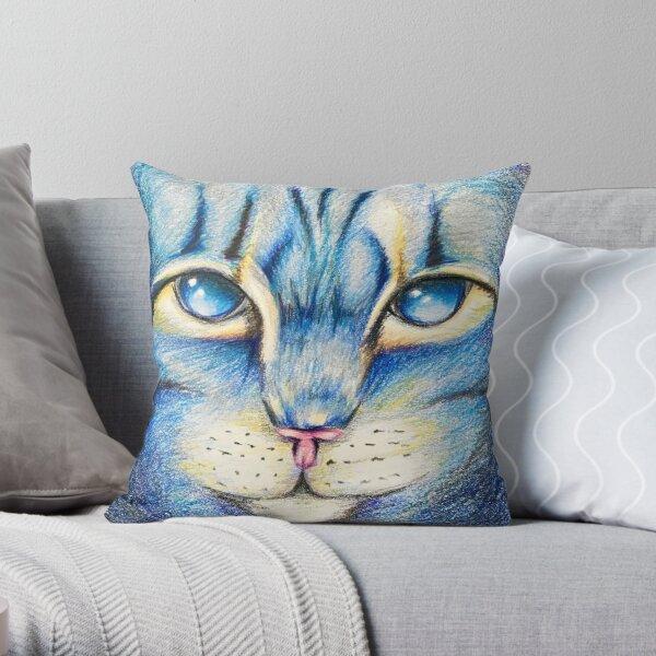 Warrior Cats Jayfeather Throw Pillow