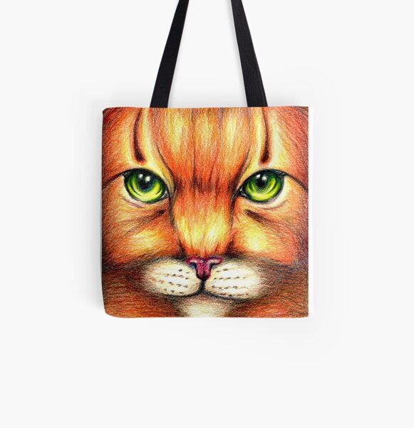 Warrior Cats Firestar  All Over Print Tote Bag