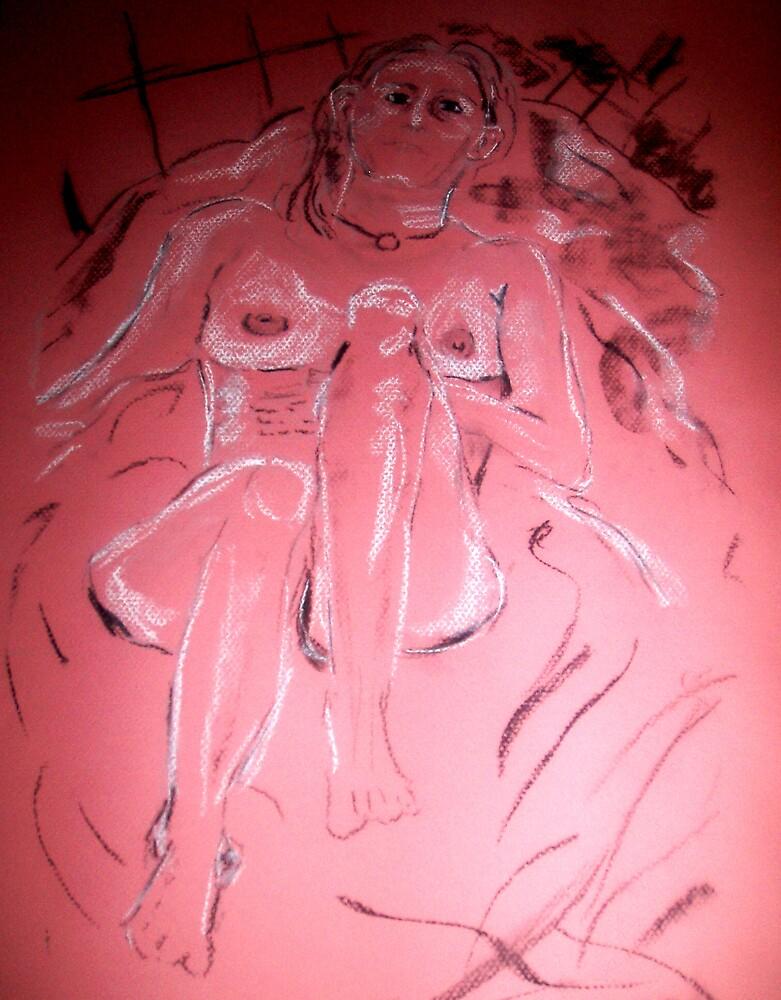 Nude - Charcoal by Rachel71