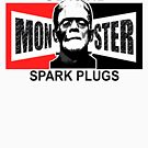 MONSTER SPARK PLUGS  by thatstickerguy