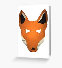 Wes the Ethiopian Wolf Greeting Card