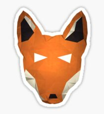 Wes the Ethiopian Wolf Sticker