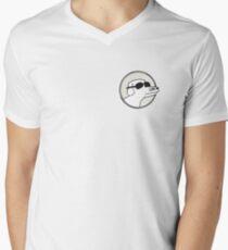 Modern Baseball Dog Men's V-Neck T-Shirt