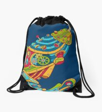 Narwhal, cool art from the AlphaPod Collection Drawstring Bag
