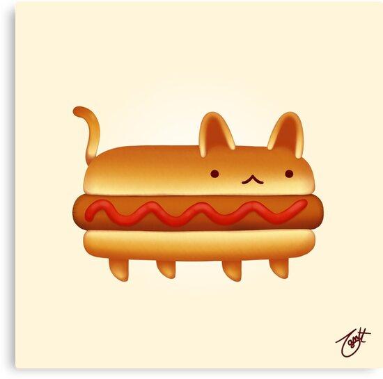 Yum Yum Cats: Hot Nya by knitetgantt