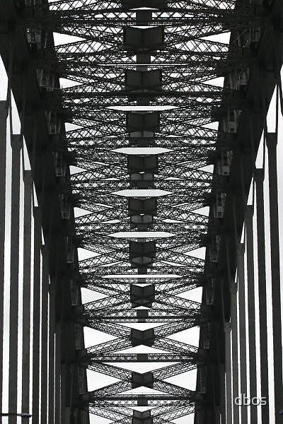 Sydney Harbour Bridge by dbos