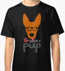Geeky Pup Classic T-Shirt